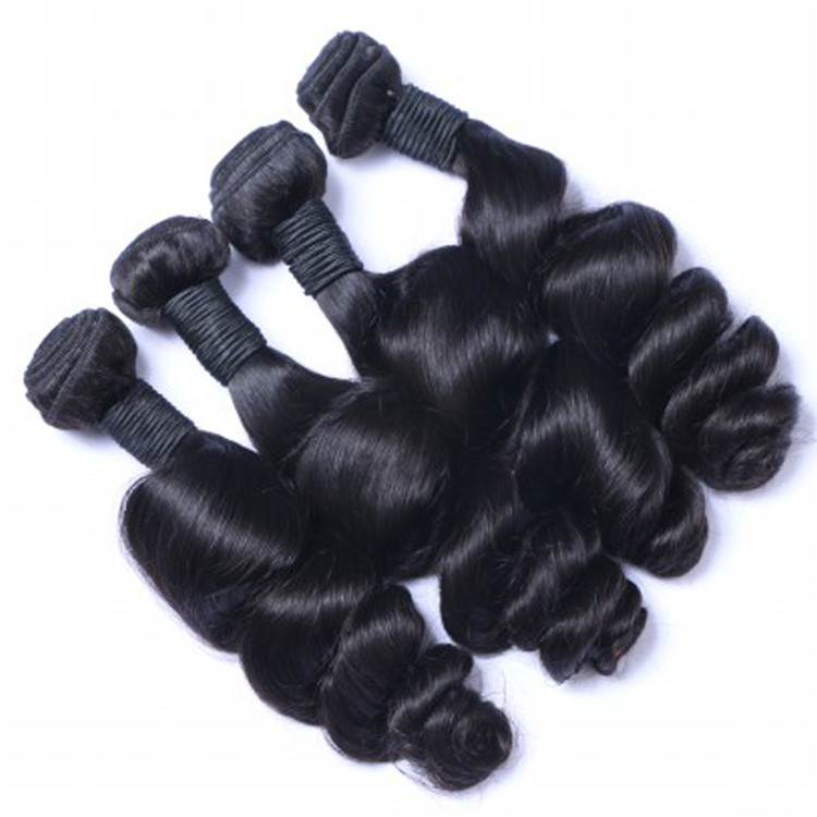 EMEDA unprocessed virgin brazilian loose body wave hair weave QM011