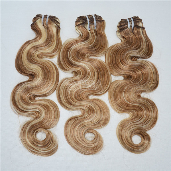 UK snap clips for hair extensions remy weave YJ153