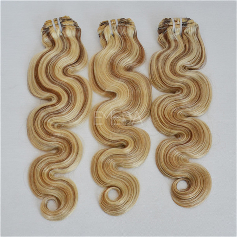 hair extensions with clips USA WK128