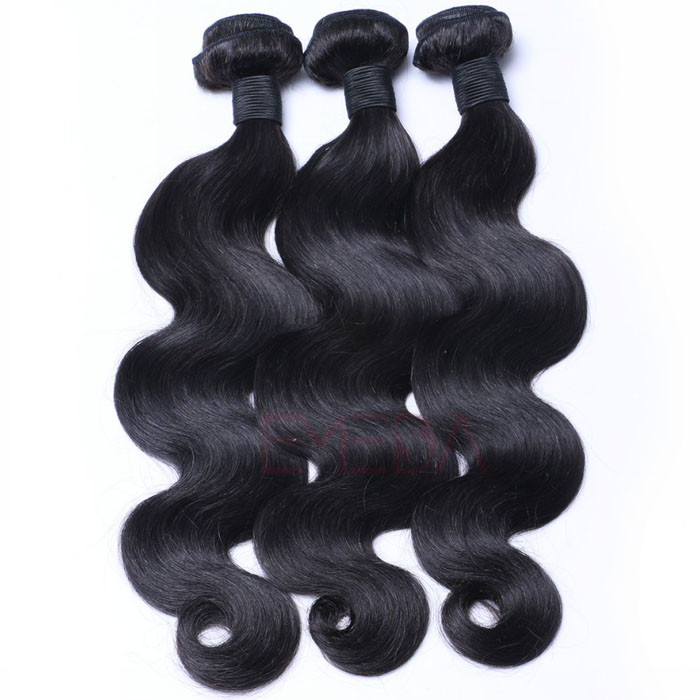EMEDA Virgin Brzailian hair weave Body wave hair extensions HW003