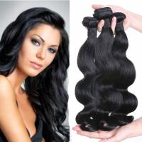 Brazilian Human Hair Extensions Large Stock Fast Delivery Hair Weaves   LM049