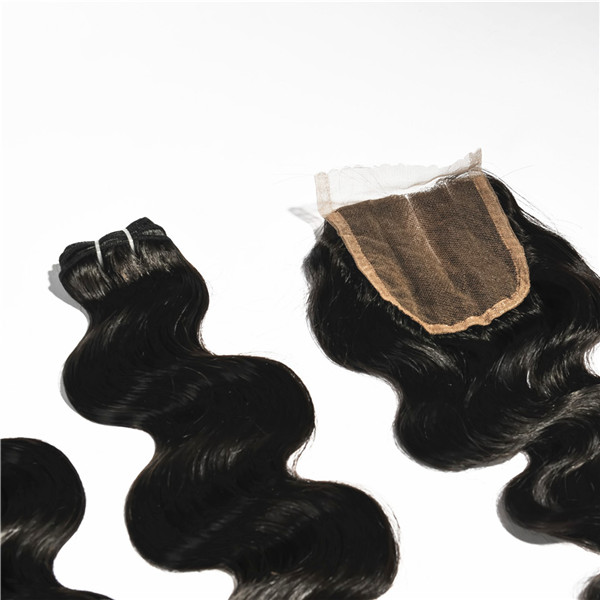 Peruvian hair bundles with closure,overnight shipping bundles and closure,straight bundles with closure HN267