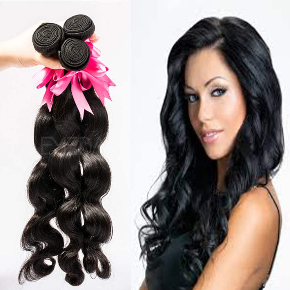 Christmas New Year Stock Grade 6a Brazilian Hair Extensions Uk For