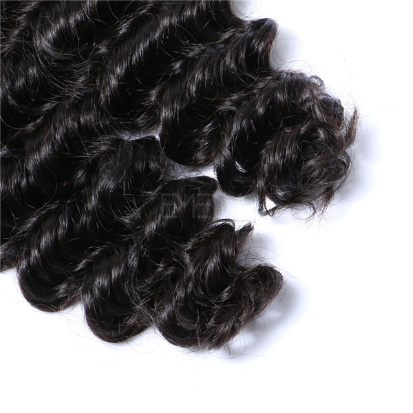 Full Cuticle deep wave remy hair LJ209