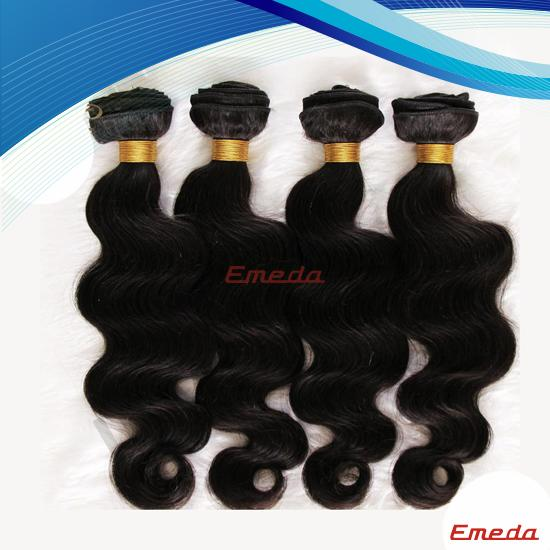 Wholesale new factory price unprocessed human 100% genuine raw brazilian hair extension uk
