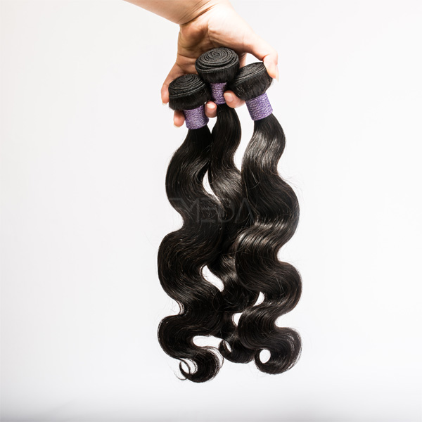 Fashion raw natural body wave hair extensions uk cheap YJ196