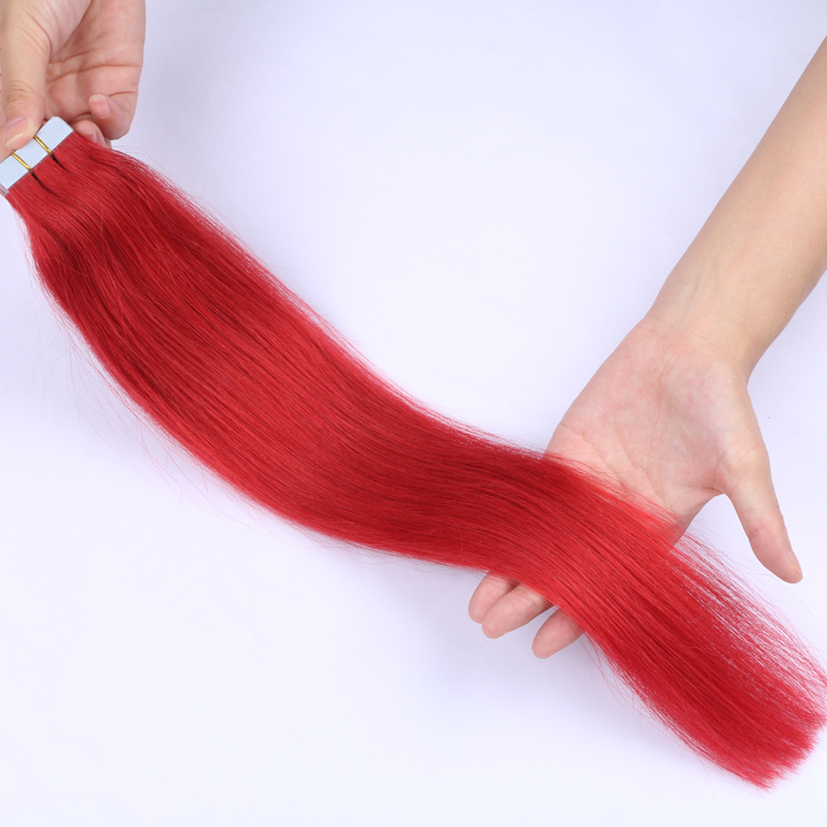 Tape great lengths hair extensions cost quality human indian virgin hair SJ00227