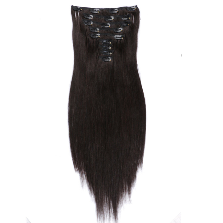Best clip in real human hair extensions SJ00115