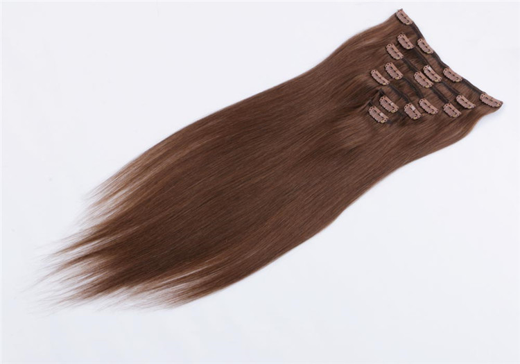 wholesale remy clip in hair extension dubai QM047