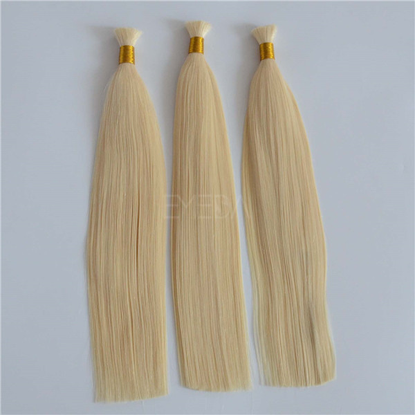 UK 20inch #60 wholesale hair bulk grade 7A Mongolian hair YJ18