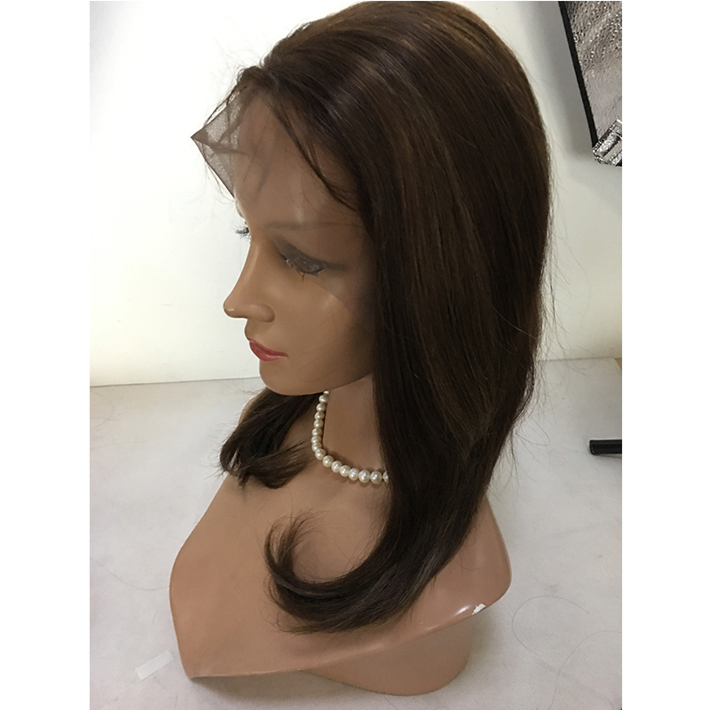 Brazilian virgin hair lace front wigs for women YL337