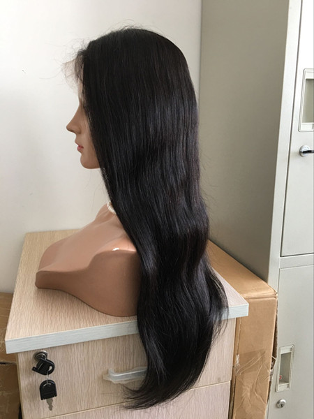 Brazilian 360 lace frontal wig natural color Wholesale priceYL031
