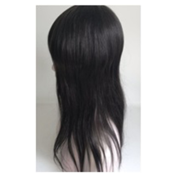 Lace with pu Men Toupee Indian Remy Hair Wigs  Breathable YL370