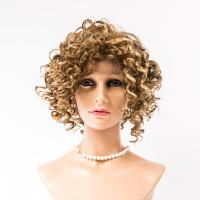 Natural wave lace front synthetic wigs  LJ75