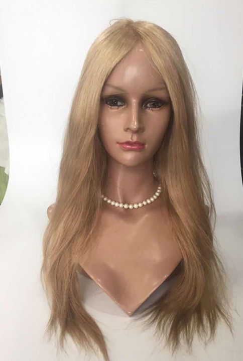Factory wholesale virgin full lace wig with silk base straight hair YL270
