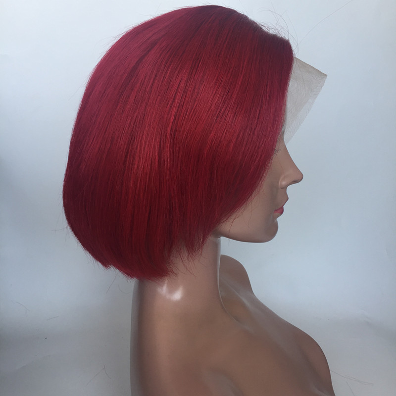 Pixie Cut Wig 13x4 13x6  Lace Front Wig full lace wig  Human Hair Short Bob Wig Human Hair Lace Front Bob Cut Wig With Baby Hair 6 inch YL390