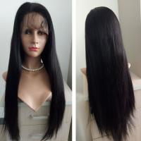 9A human hair wigs 360 Lace front wig for black people Brazilian straight 360 hair wigs with baby hair and natural hair line Hw0098