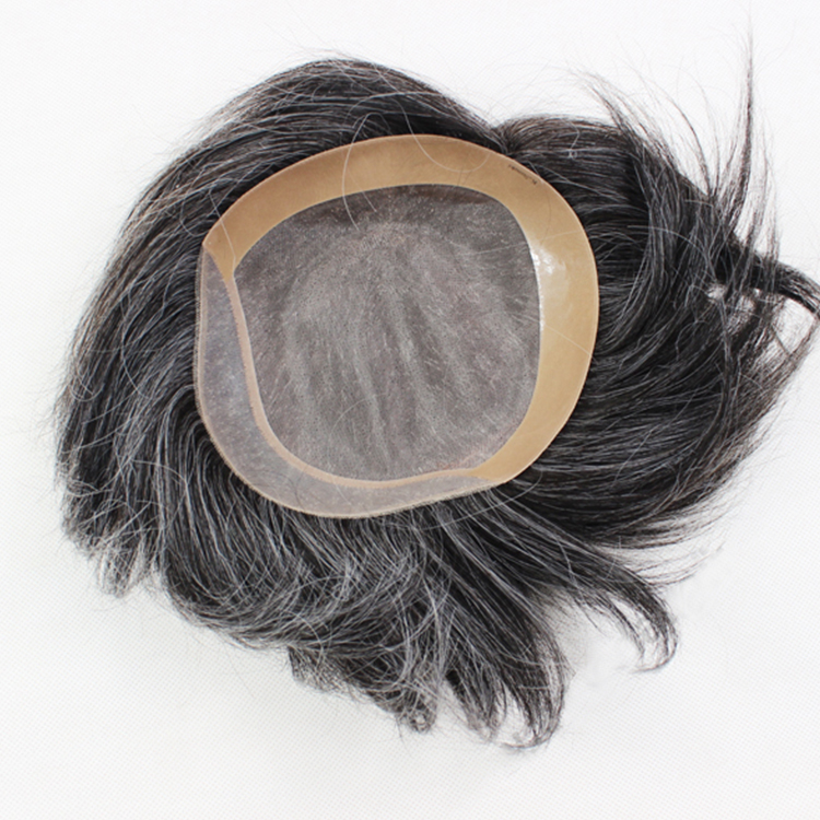 Human hair replacement custom define toupee chicago SJ00205