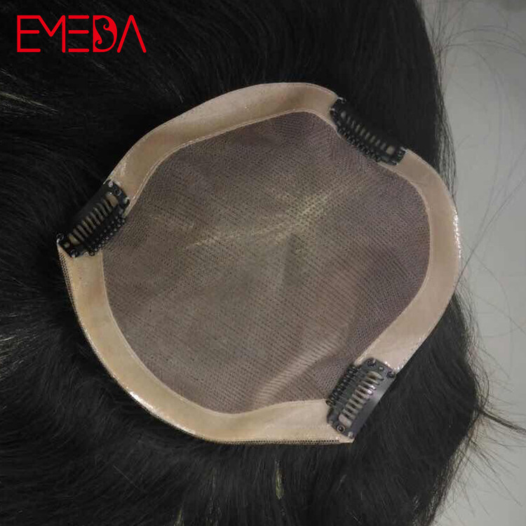 White woman hair toppers hair pieces toupees customized closure for women YJ308