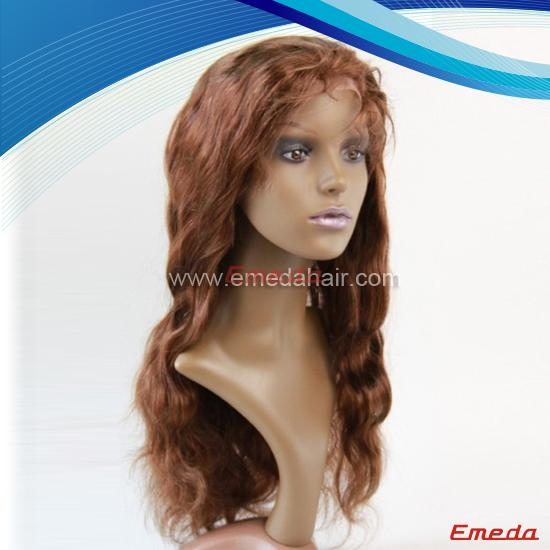 virgin peruvian lace wig
