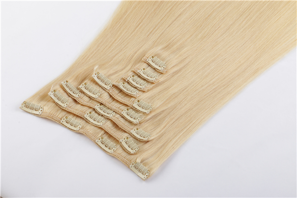Hair Extensions Clip In Real Human Hair Extensions...</>