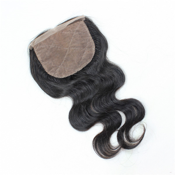 Swiss lace closure with natural color 4*4 YL025