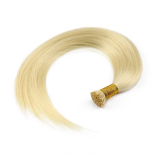 Blonde 613 pure color I tip hair extension for Salon 30