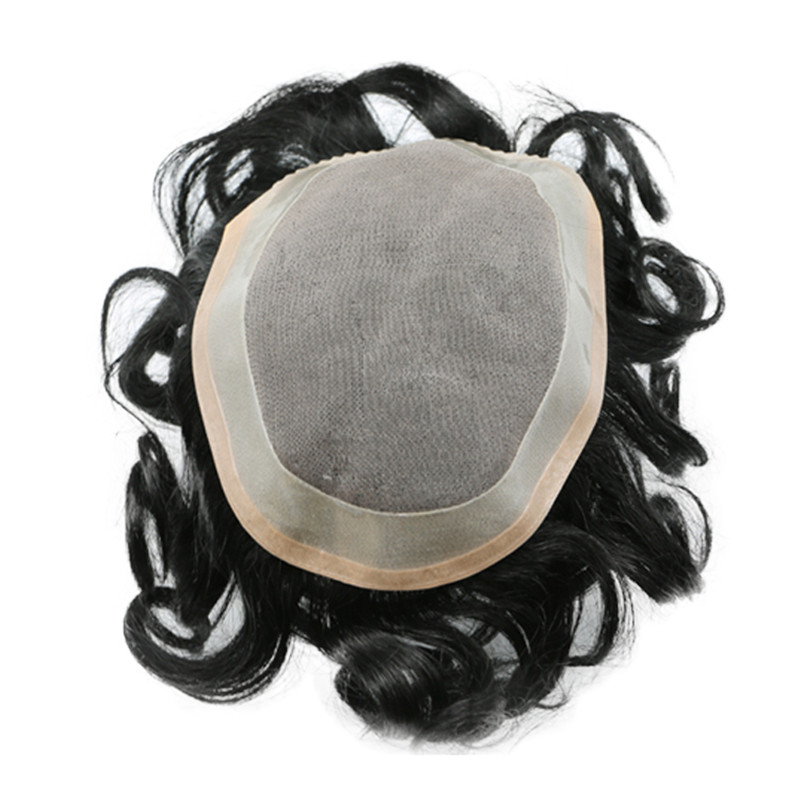 ALI1 Man toupee China Manufacturer Factory Price with Low Shipping Cost WK062