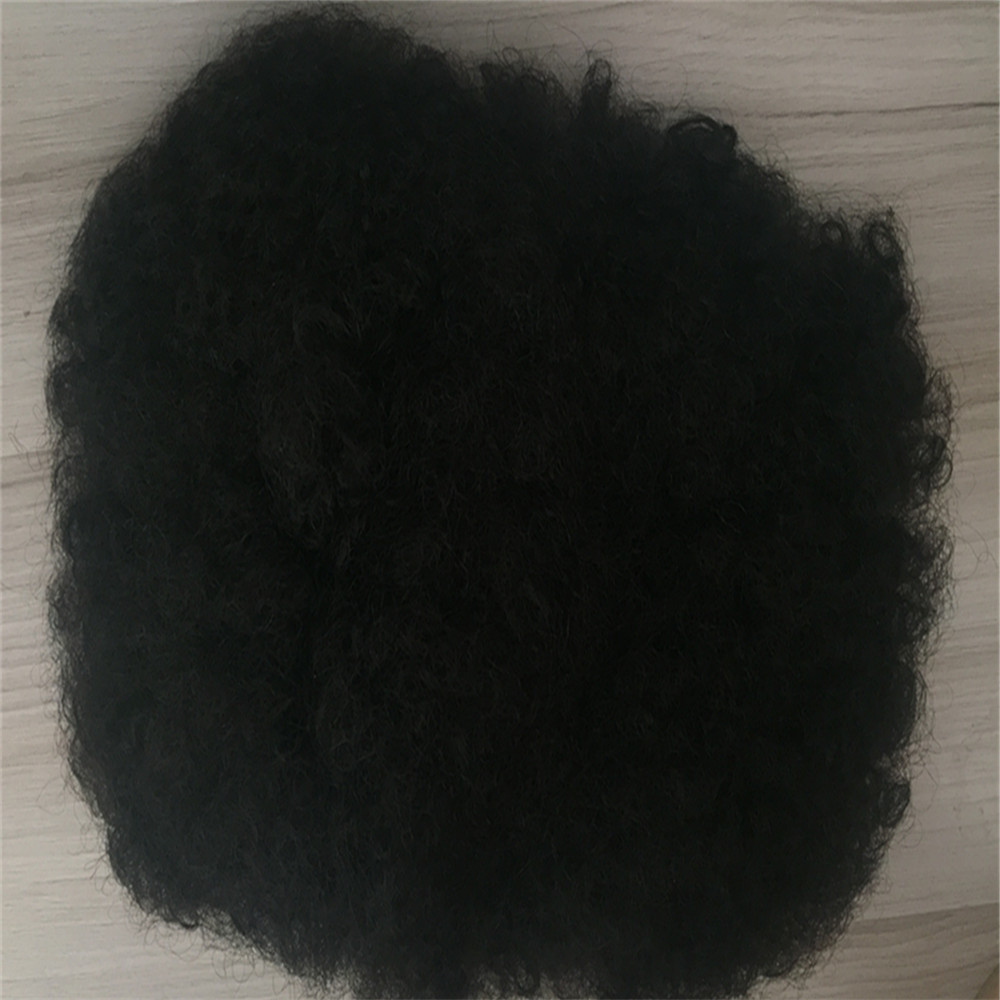 Africa Afro kinky   curl 8*10 inch  toupee and 8*4 inch closures virgin hair YL166