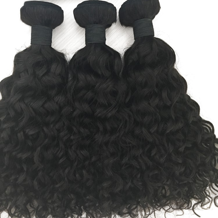 Wholesale cuticle aligned hair deep curl raw unprocessed high quality human hair YL145