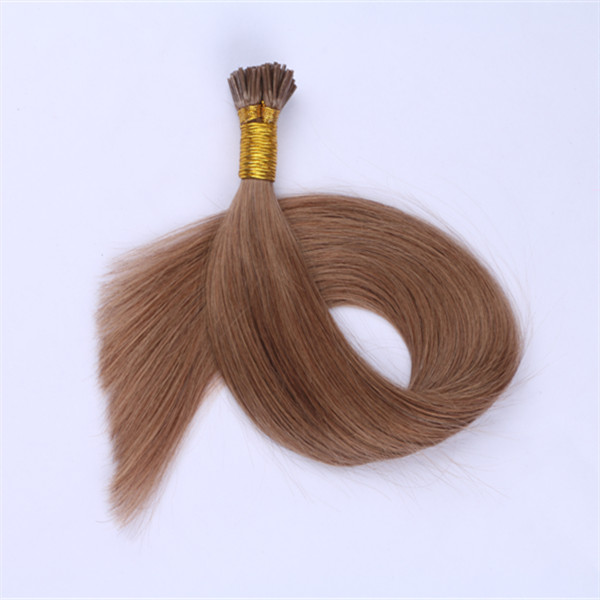 Dark Brown #12 I Tip Hair Extensions Human Hair 1g Per Strands  Pre Bonded Hair Extensions YL348