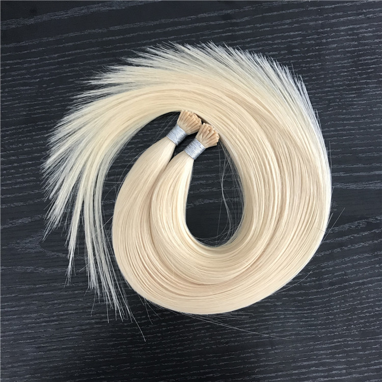 I tip Pre-bonded Keratin Hair Extension Cuticle Aligned Hair WK030