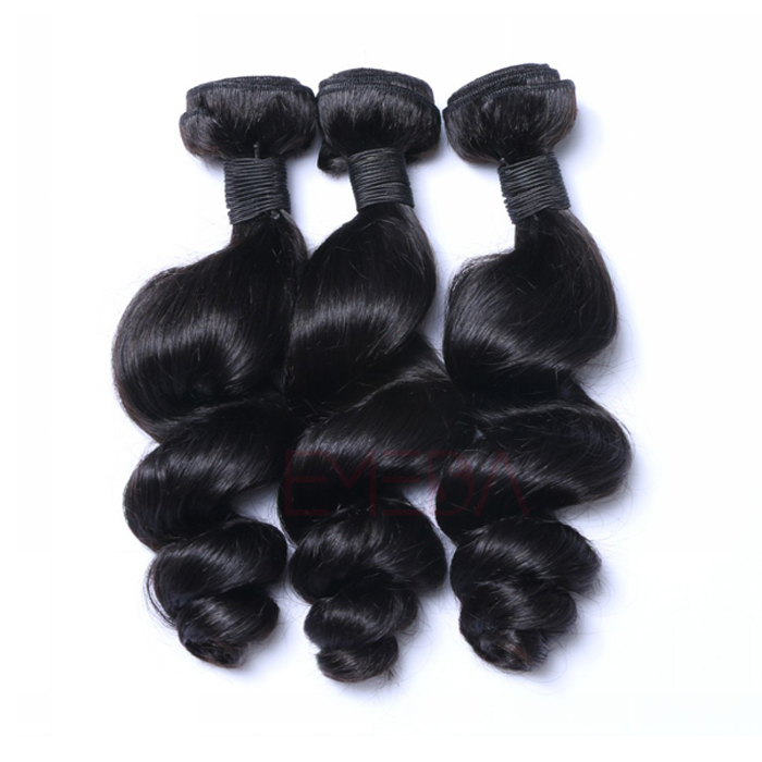EMEDA Indian Hair Loose Wave Best Real hair Extensions HW016