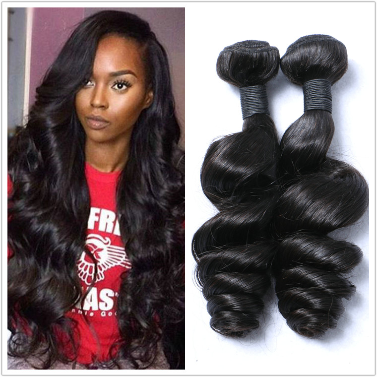 Malaysian untreated natural color hair bundle DL0004