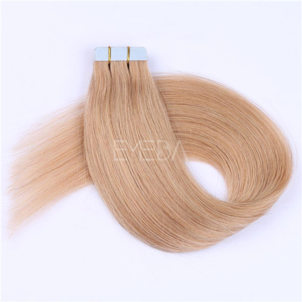 Tape in hair extensions in short hair cheap and great hair human hair YL261