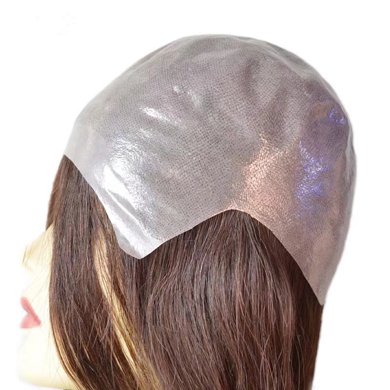 Full skin invisible lace wig supplier from China QM080