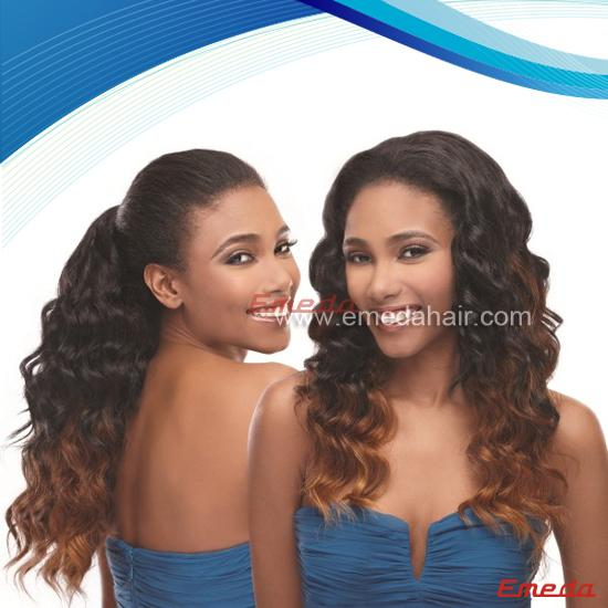 fashionable human hair full lace wig