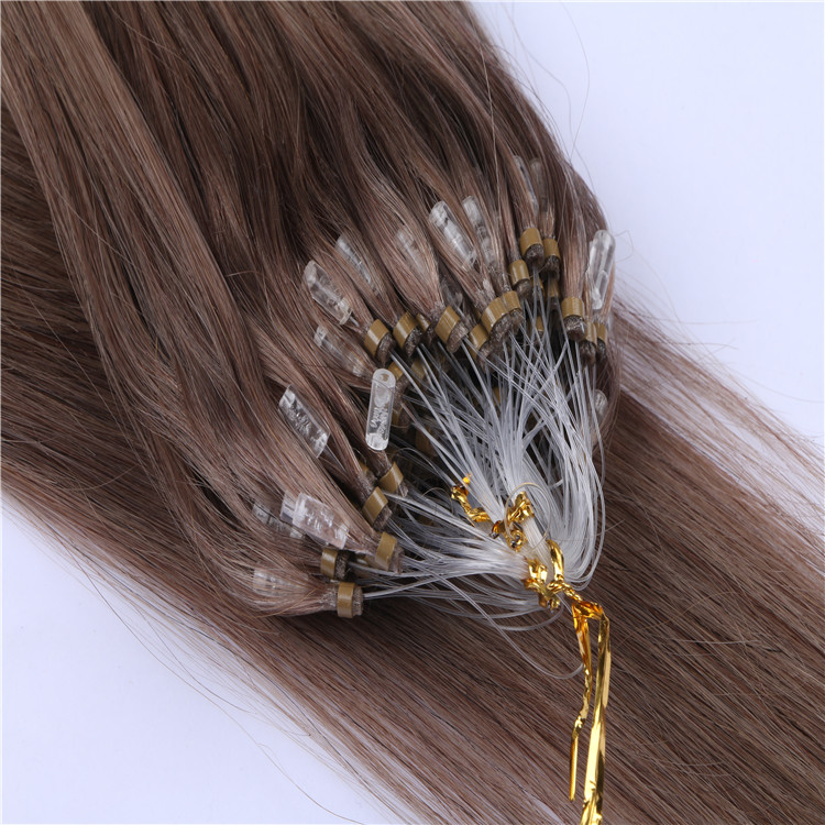 Micro Ring Hair Extension with Beads 100 Strand a Pack WK028