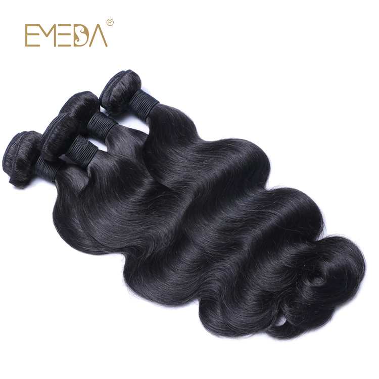 100% Human Hair Bundles From Malaysian Virgin Hair Weave Body Wave Grade Top Hair LM313