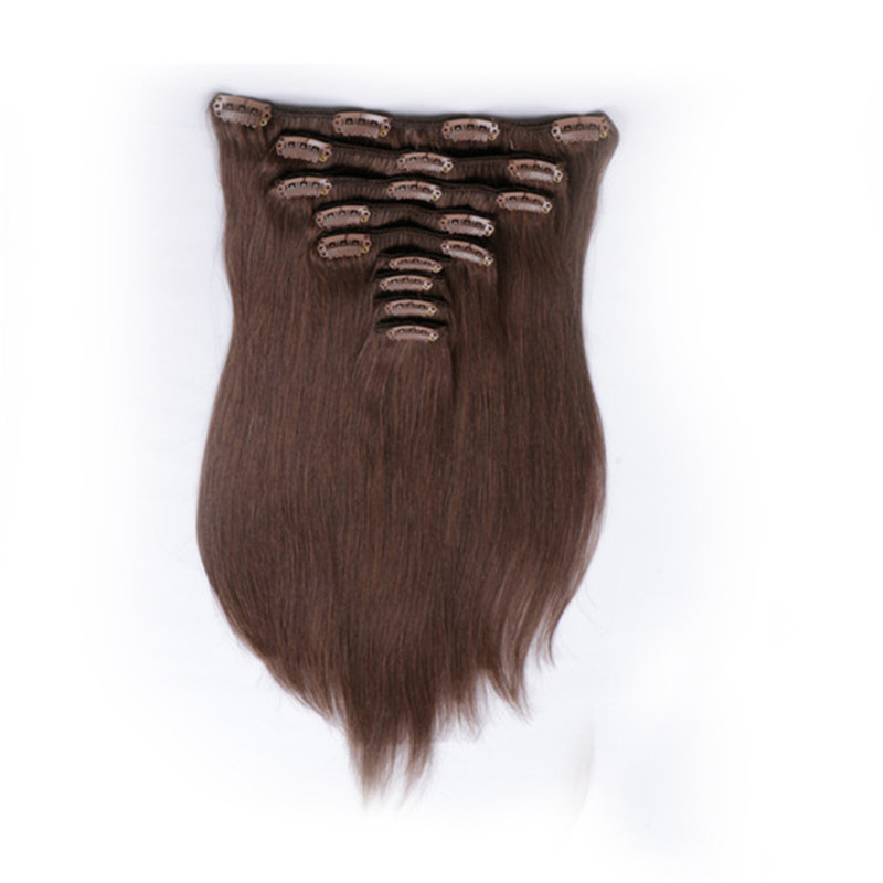 Clip in Hair Extensions Virgin Human Brazilian Ori...</>