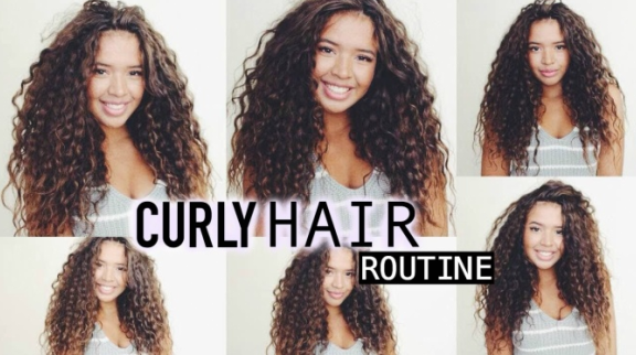 How can you repair your messy curly hair? QM014