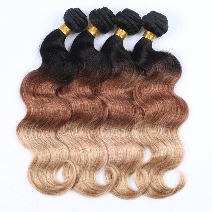 EMEDA high quality remy human hair extensions and pieces body wave hair HW063