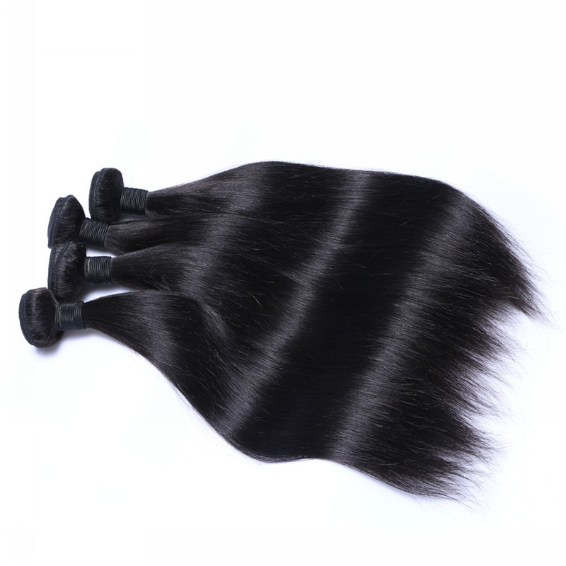 Silky Straight Hair Bundle Best Quality 9A Grade No Shedding No Tangle WK042