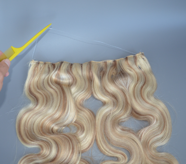 halo hair extensions easy to wear more beautiful JF010
