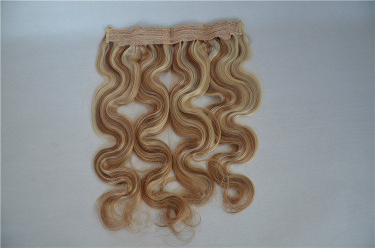 Halo Hair Extension with Wire Easy to Wear WK025
