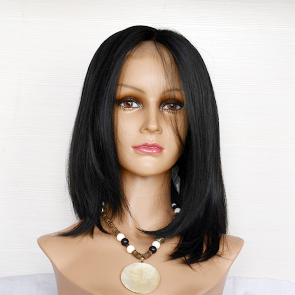 Brazilian Human Hair Full Lace Wigs Customized As Your Request Hair Supply    LM081