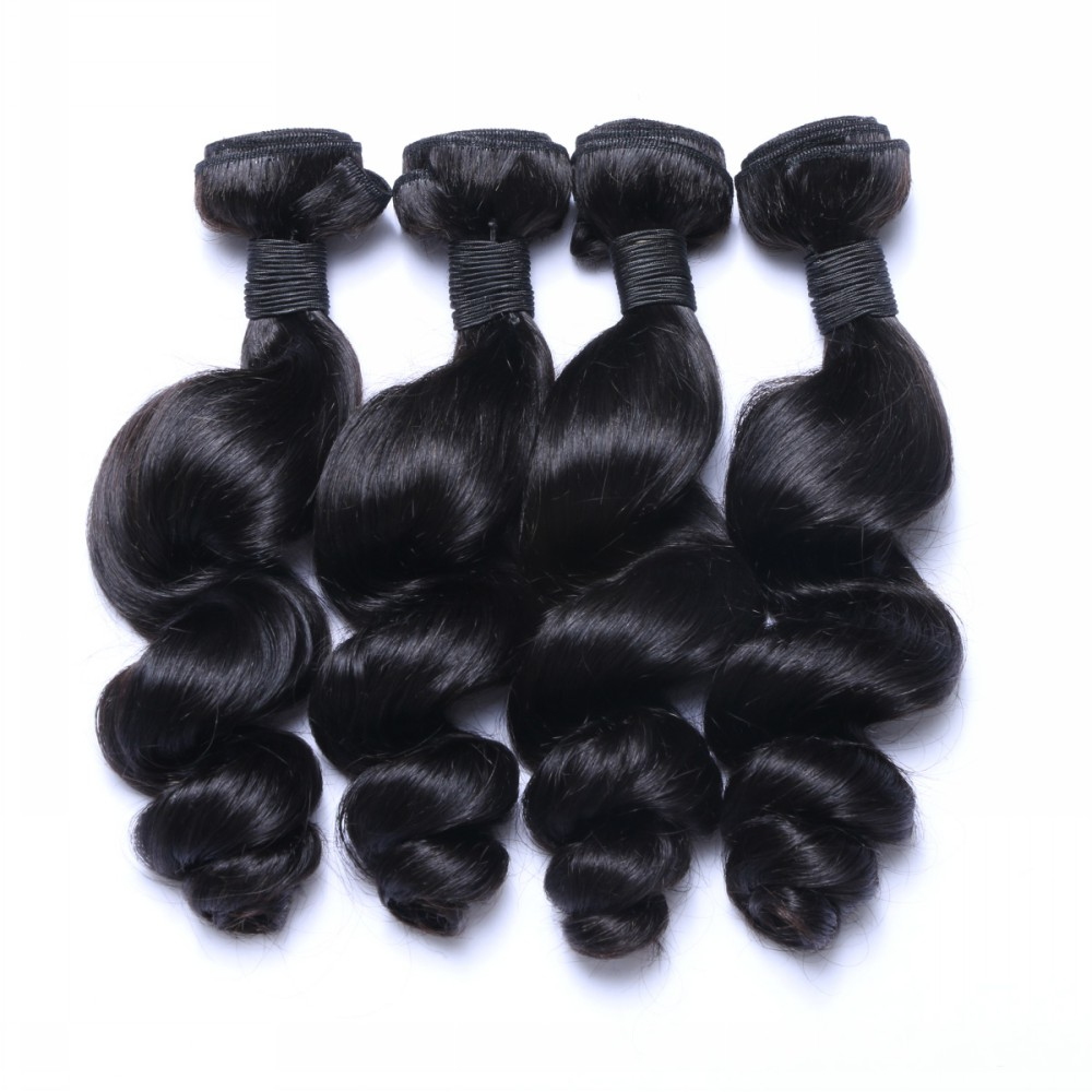 TOP Quality Best Price Wholesale Hand Tied Brazilian Weft Hair HN104
