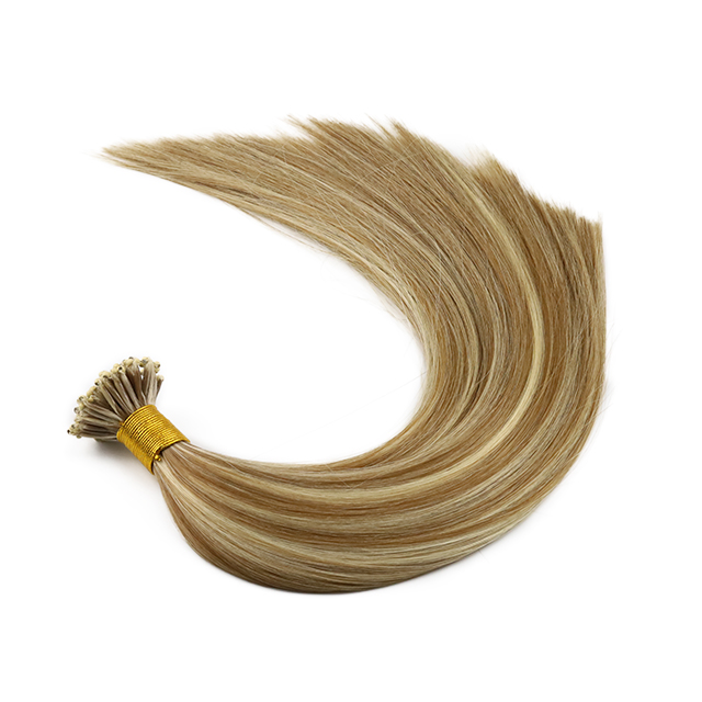 micro ring  hair extensions  human hair weft double drawn remy hair YL472