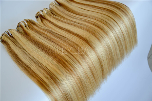 Buy clip in hair extensions online real hair best price YL037