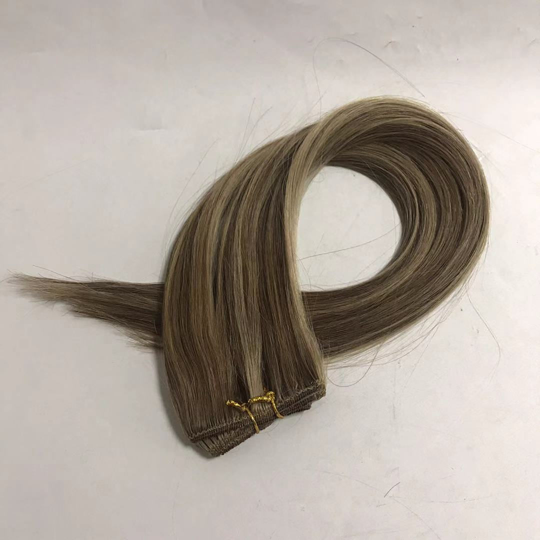 clip in hair piano color mixed 4 colors latte blon...</>